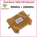 Dual Band ganancia 65dbi 4G DCS 1800 MHz + GSM 900 Mhz GSM 4G Repetidor, 4G GSM Teléfono Móvil Señal Repetidor 4G GSM Amplificador Booster