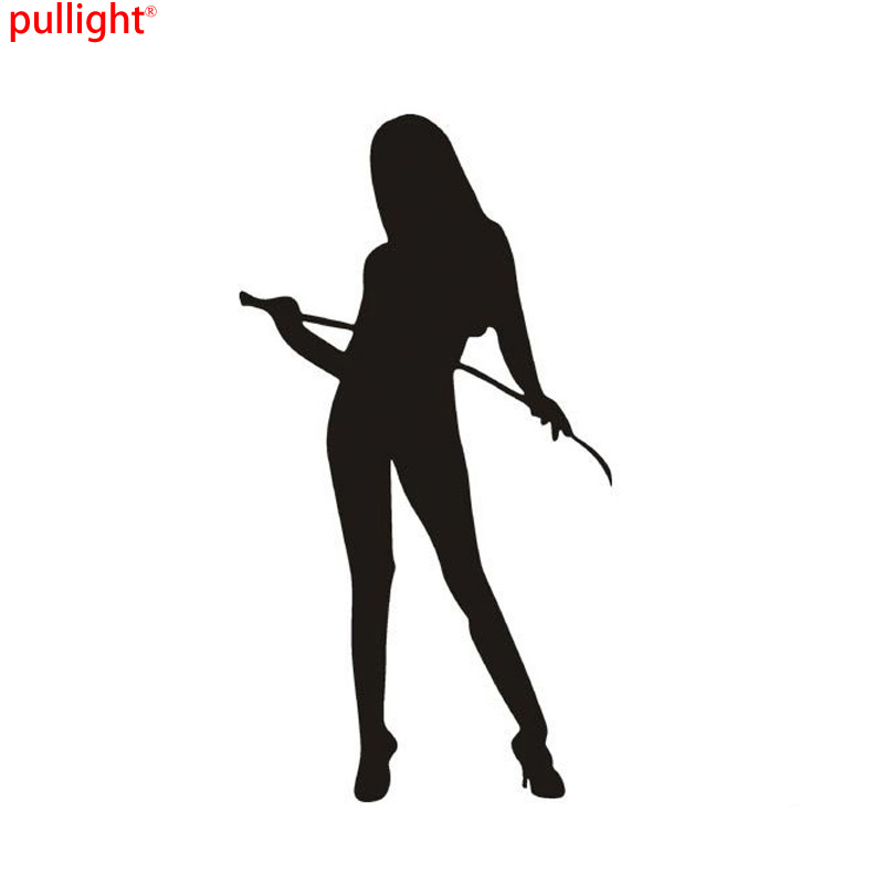 15 8CM Personalized Car Stickers Flirty Temptation Angel And Devil Beautiful Car Styling Car Stickers in Car Stickers from Automobiles Motorcycles