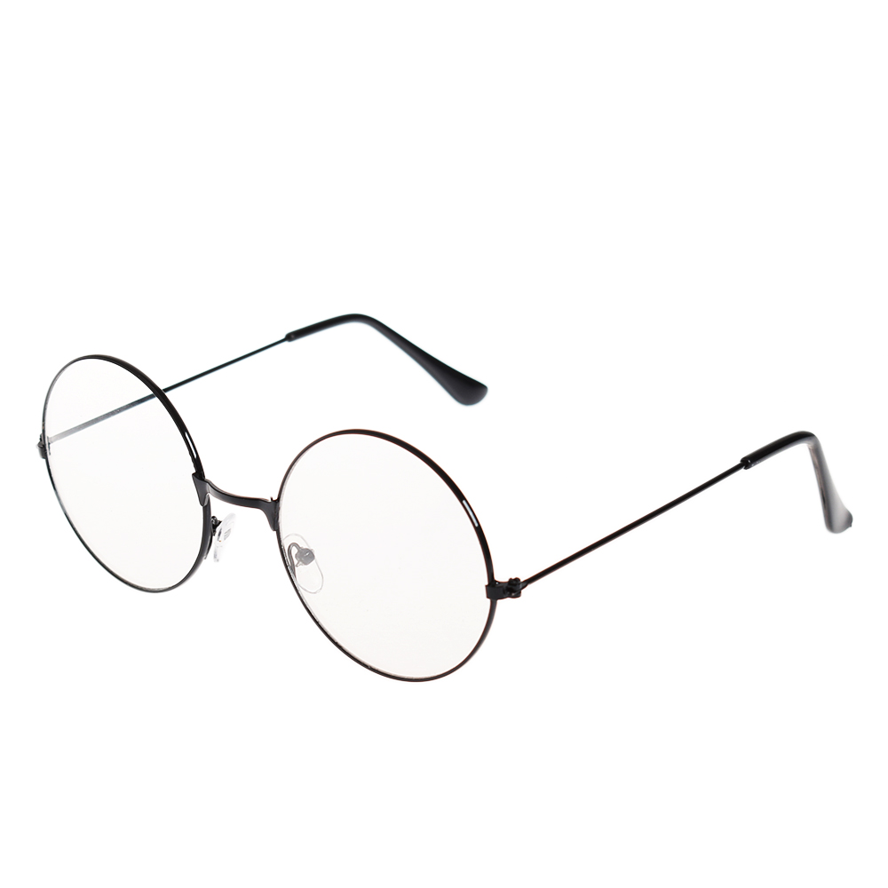 1ce40a7def Women Men Large Oversized Metal Frame Clear Lens Round Circle Eye  Glasses-in Sunglasses from Apparel Accessories on Aliexpress.com