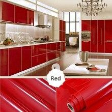 Removable Wallpaper Kind Color 13  Waterproof Shiny Furniture Refurbished Stickers Home Kitchen Cupboard Shelf Drawer Decor