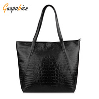 Fashion Solid Women Shoulder Bags Causal PU Leather Big Tote Bags For Ladies Large Capacity Handbag
