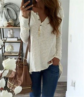 Fall 2017 Fashion Casual White Women Clothing Autumn Winter Long Sleeve Tops Office Lady Blouses Plus