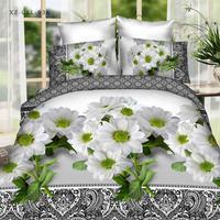 Popular 3D flower bedding sets bed set linen cotton twin queen king size duvet cover set bedlinen bedclothes adult #2