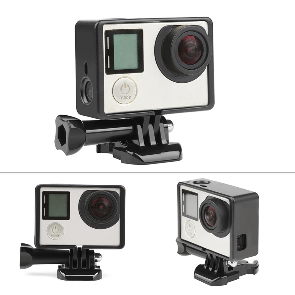 Pro Protect Case for GoPro Hero 3 3+4 with Standard Border Frame Mount