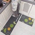 2 teile/satz Küche Bad Matten Teppich, 15 Farben Anti Slip Große Bad Teppich, moderne Stil Bad Matte Für Wc Alfombras