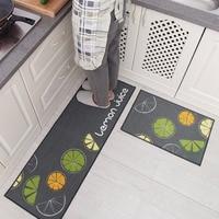 2Pcs/Set Kitchen Bath Mats Carpet, 15 Colors Anti Slip Large Bathroom Rug, Modern Style Bathroom Mat For Toilet Alfombras