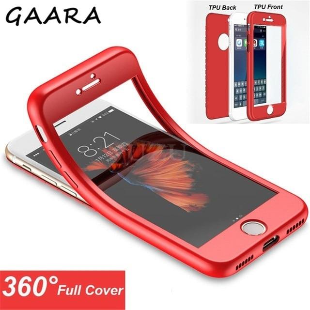 360 Degree Full Phone Case for Xiaomi Mi 6 9 8 SE Lite Candy Silicone Case for Xiaomi Pocophone F1 Mi Max 2 Note 3 A1 A2 5X 6X