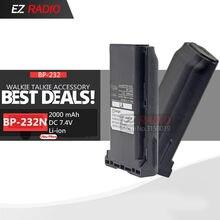 BP-232 BP-232N BP-232H Batterie Compatible avec IC-A14 A14 F14 IC-F16 F24 IC-F33GS IC-F43 F34G F3021 F3061 F4029 F4061 Chargeur