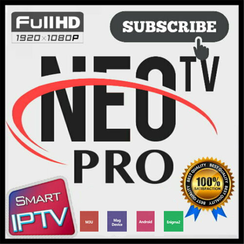 NEOTV Pro Ultra HD Arabic French IPTV Subscription NEO TV 12 Months H.265 France Arab Nederland Live European TV Package VOD