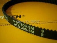 Free Shipping HTD312-3M-9 teeth 104 width 9mm length 312mm HTD3M 312 3M 9 Arc teeth Industrial Rubber timing belt 10pcs/lot