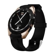 Ultra delgado bluetooth smart watch soporte de control de voz inteligente de ritmo cardíaco gimnasio rastreador smartwatch para android ios relojes