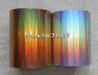 One Roll 640mmx120m Laser Silver Color Hot Stamping Foil Paper High Quality And Factory Price
