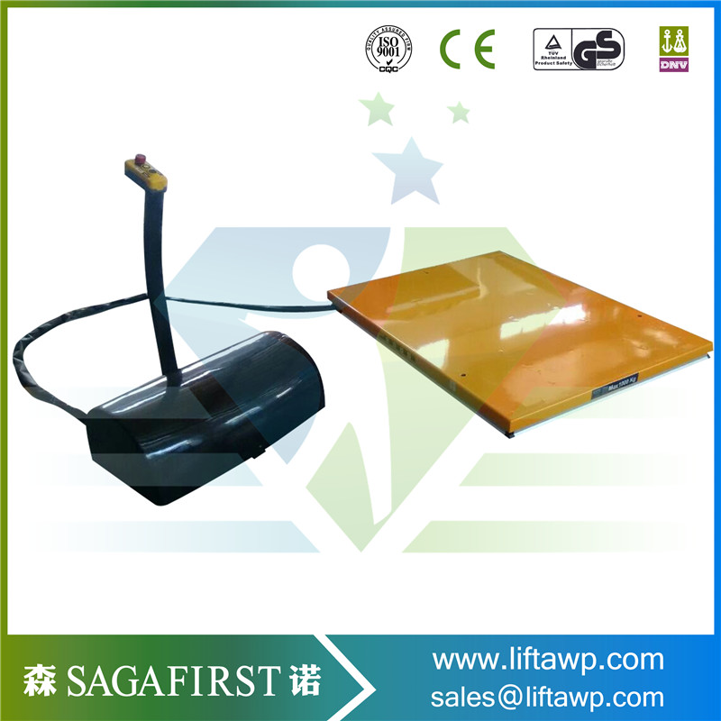 Hydraulic Stationary Construction Electric Lifting Platform Scissor Lift Table