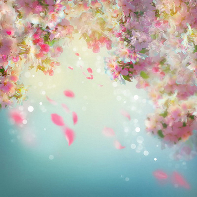 fantasy flower background water color dreamy pastel floral backdrop