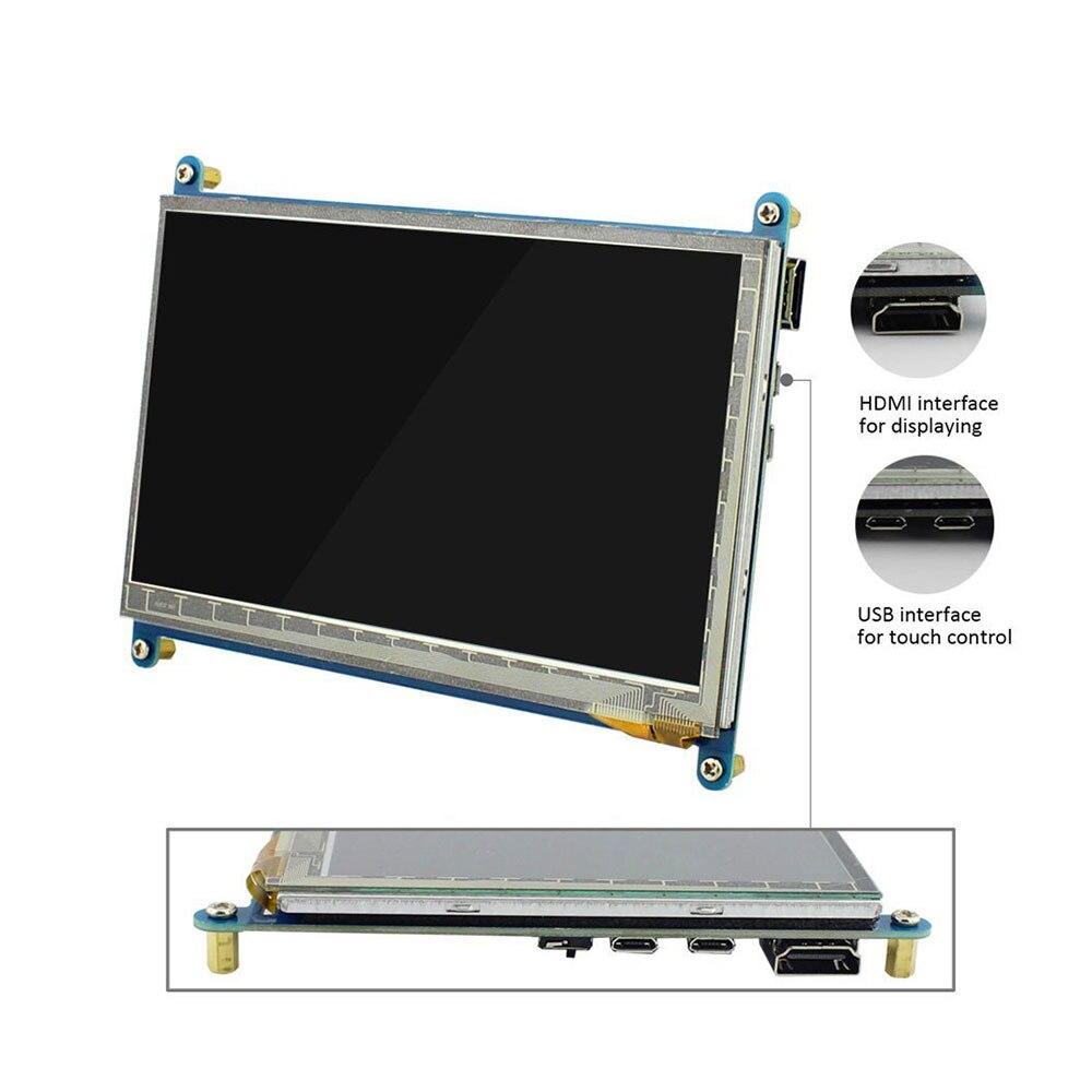 Raspberry Pi 3 affichage 7 pouces écran tactile HDMI HD LCD TFT 1024*600 (Pixel) moniteur pour Raspberry Pi 3 2B B Pcduino Win7 8 - 3