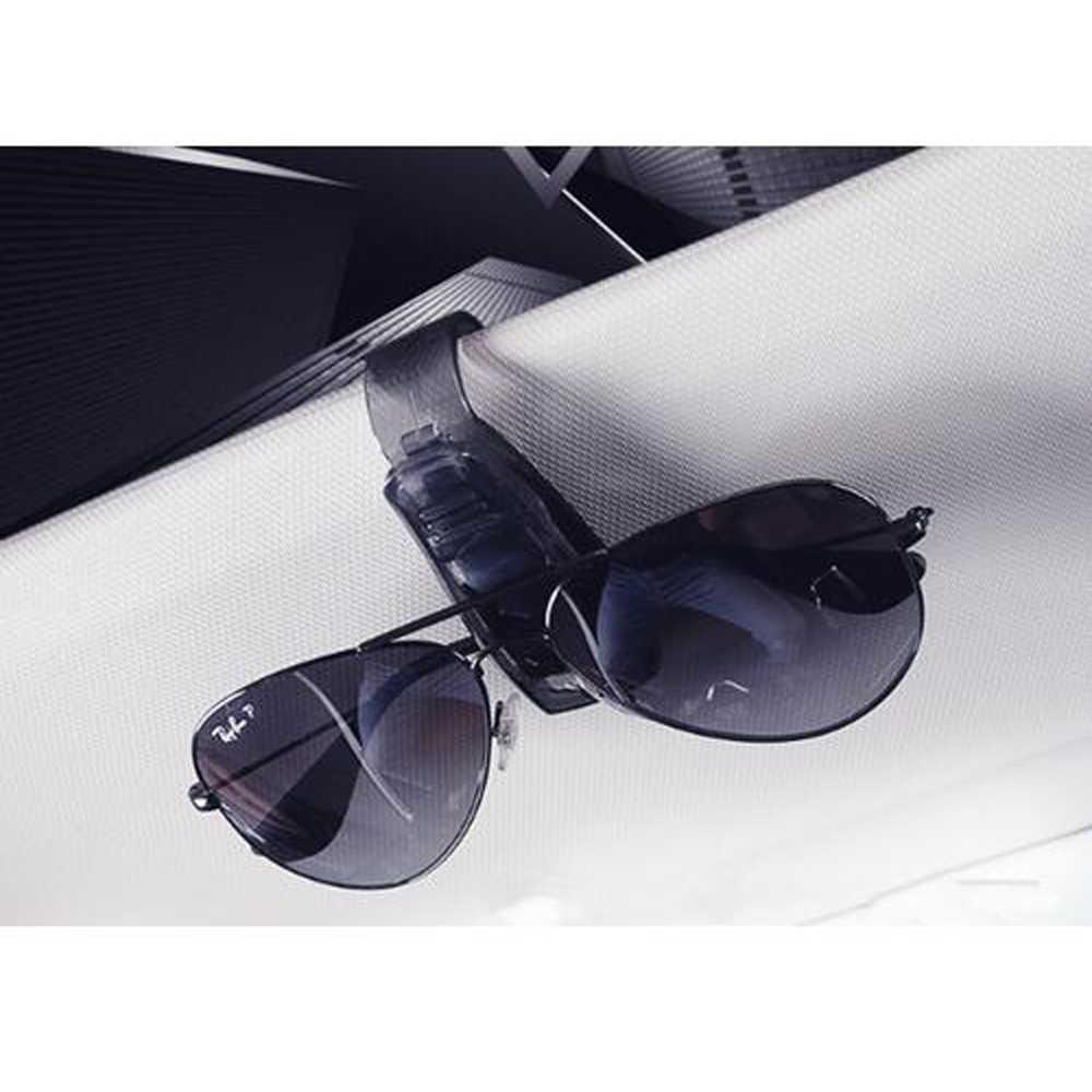 Akcesoria samochodowe osłona przeciwsłoneczna okulary okulary klip uchwyt na bilety stojak dla Lexus RX300 RX330 RX350 IS250 LX570 is200 is300 ls400 CT
