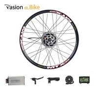 Pasion E Bike Conversion Kits 36V 48V 500W Motor For Electrical Bike Conversion Kit 20 24 26 700C 27.5 28 29 Rear Wheel Kits