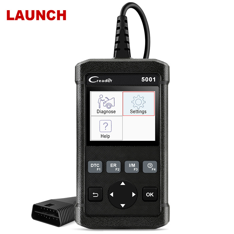 Launch CR5001 OBD2 Automotive Scanner Code Reader O2 Sensor Test Car Diagnostic Tool With Multi Language OBD OBD 2 Auto Scanner one set portable car truck diagnostic scanner tool auto obd 2 kw807 fault code reader scanners with cd