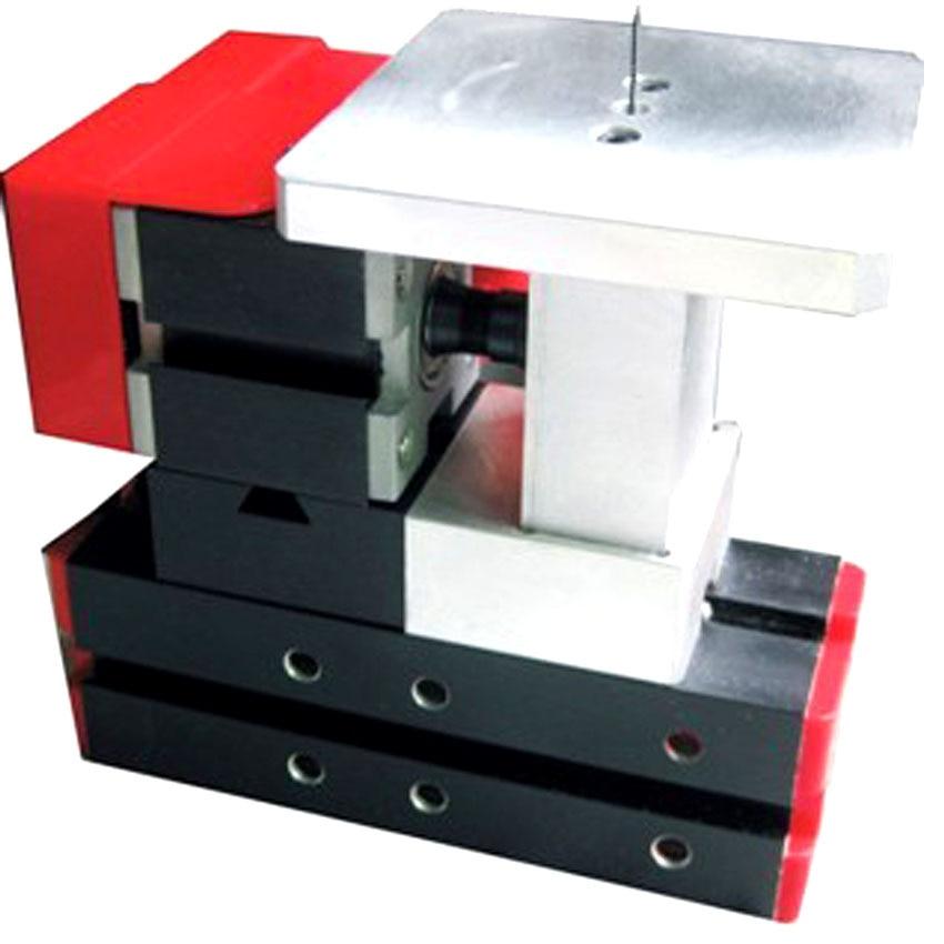 1 db komplett fém 6 az 1-ben Mini esztergamaró fúró fúrószerszám fűrészelés és csiszolás kombinált gép DIY szerszám