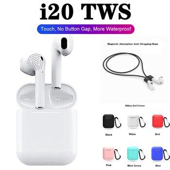 I20TWS Wireless Earbuds Bluetooth Earphone Touch Control Headset for Phone PK i7s i9s i10 i11 i12 i13 i14 i15 i16 i17 i18 i19tws
