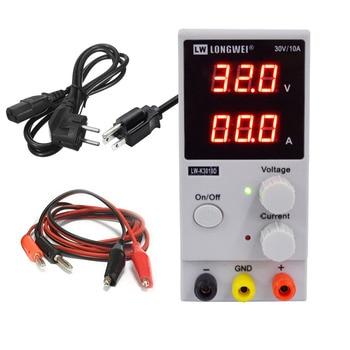 LW 3010D DC Power Supply Adjustable Digital Pengisian 30V 10A Switch Laboratorium Power Supply Tegangan Regulator