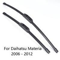 Escobillas limpiaparabrisas de coche para Daihatsu Materia forma 2010  2011 de 2012 limpiaparabrisas de coche de goma