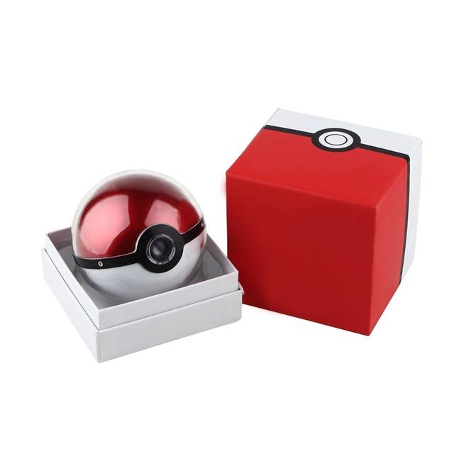 Pokeball Generation3 Carregador Banco Do Poder 12000 mah Presente Jogo Christom Pokemons Ir bola Puxão Powerbank Móvel Lâmpada de Projeção Pika