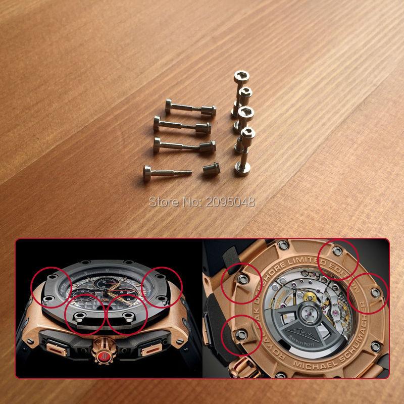 Audemars Piguet ROYAL OAK OFFSHORE watch case back bezel screw (5)
