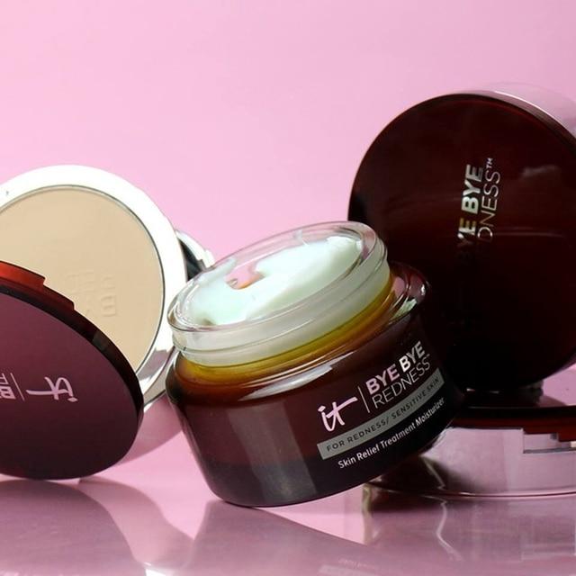 Concealer Cream Makeup It Cosmetics Full Coverage Redness Neutralizing Correcting Foundation Cream Transforming Neutral Beige 4