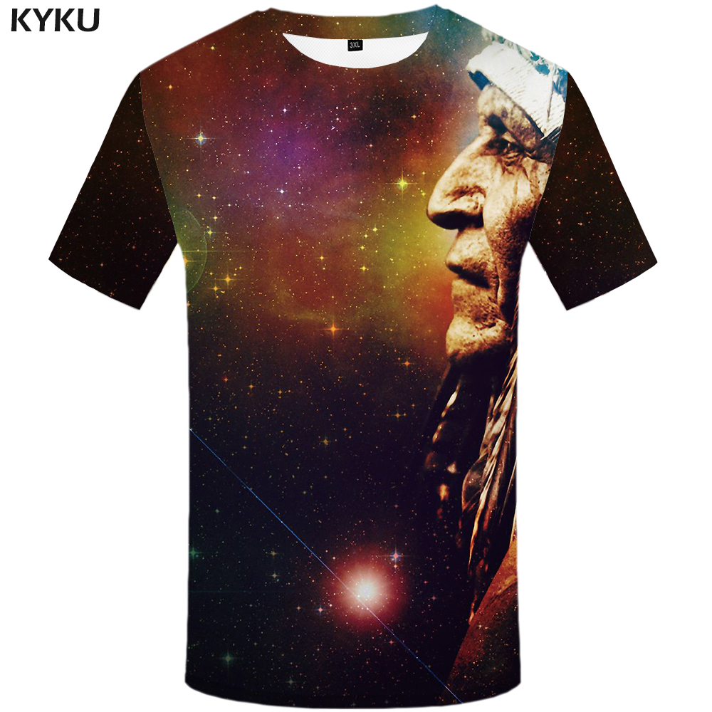 Schmuck & Zubehör Kyku Galaxy T Hemd Männer Bunte Indians T-shirt Anime Kleidung Raum 3d Druck T-shirt Hip Hop Herren Kleidung Sommer Casual Tops Dauerhaft Im Einsatz