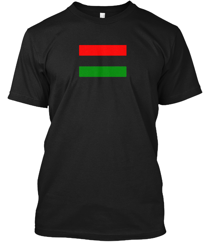 Pan African Flag -unia Stick Popular Tagless Tee T-Shirt
