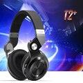 Bluedio t2 + audifonos inalámbrica bluetooth 4.1 estéreo para auriculares auricular plegable extensible soporte de tarjeta tf fm + paquete