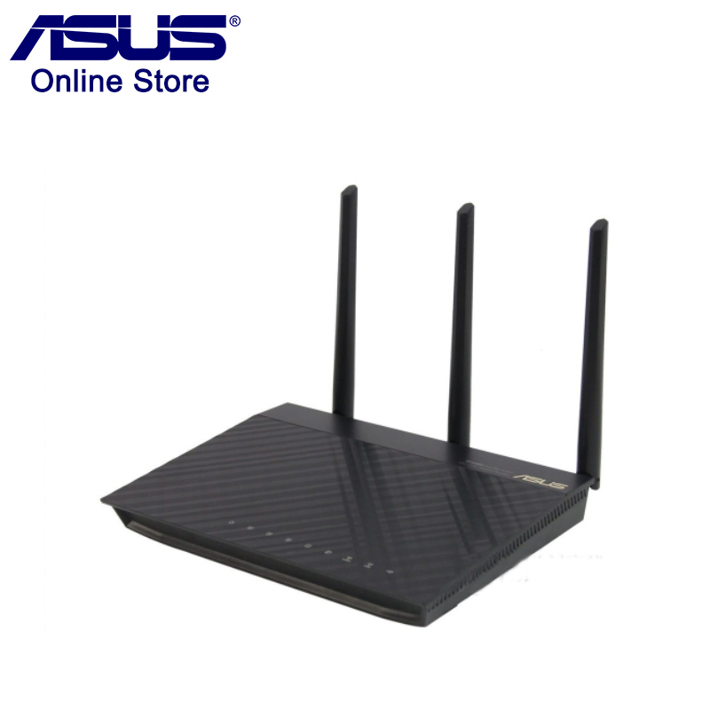 100% Original ASUS RT-AC66U AC1750 Router 2.4G/5G  Wi-Fi 802.11ac Wireless Router