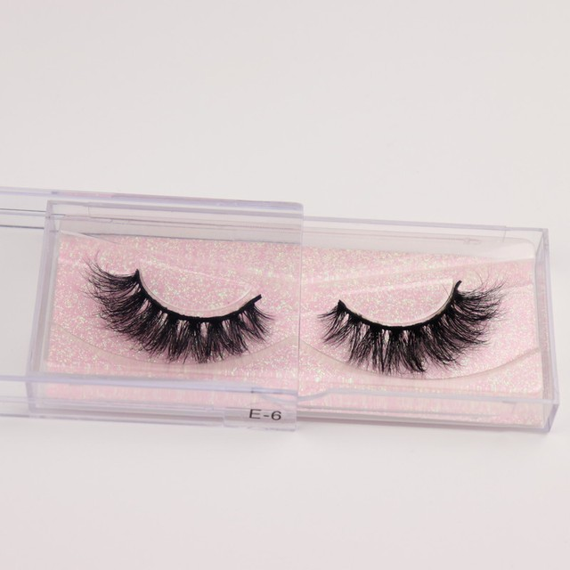 Mink Eyelashes 3D Mink 100% Cruel Eyelashes Handmade Natural Reusable Small Eyelashes False Eyelash Makeup Eye 3