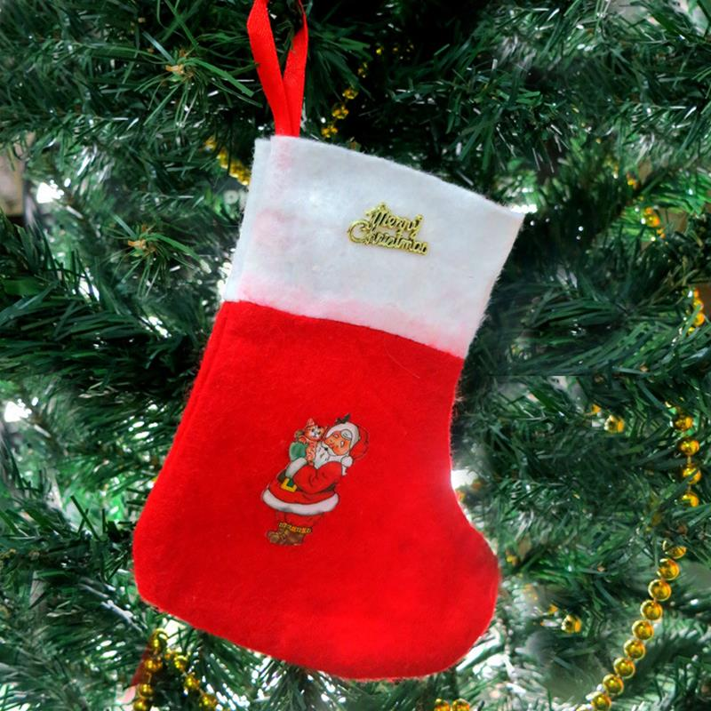 Cheap Christmas Decorations Stocking Christmas Gift Bag