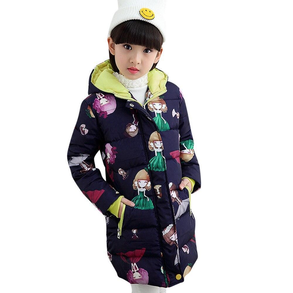 Warm Children Winter Wadded Jacket Tops,Kids Boys Girls Long Sleeved Hooded Zipper Coat Outwear age:3-4 Years, Black