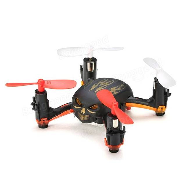 GW008 Mini Череп 2.4 Г 4CH 6 Оси Автоматической Параллельной Системы 3D Прокатки RC Мультикоптер Drone MODE2 RTF