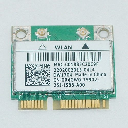 Driver for Dell XPS One 2710 Broadcom DW1704 802.11 b/g/n Bluetooth 4.0