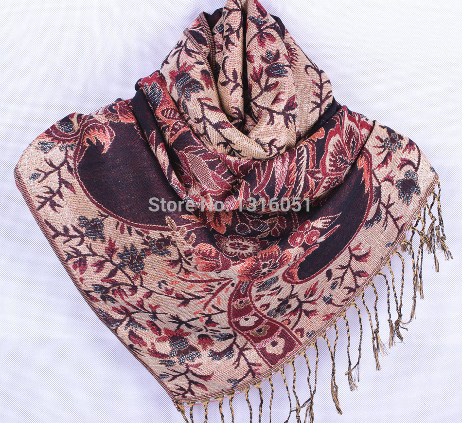 Women New Arrival Shawl National Style Cashmere Pashmina Fashion   Scarf     Wrap