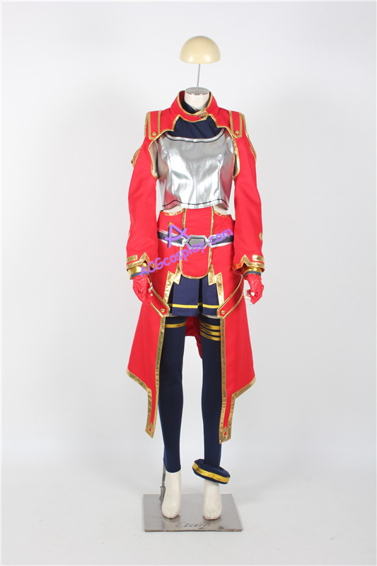 Sword Art Online Silica Cosplay Costume ACGcosplay anime costume game - Disfraces - foto 1
