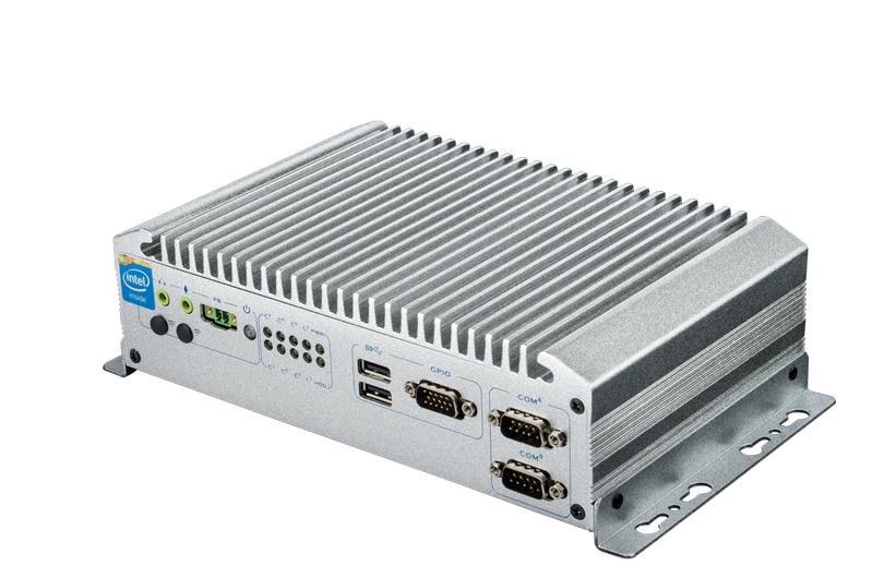 Industrial Fanless Box PC, Core i5-5200U CPU, 4GB DDR3 RAM, 64GB SSD, 2*RS232/484, 4*RS232, 2*USB2.0, 4*USB3.0, OEM/ODM