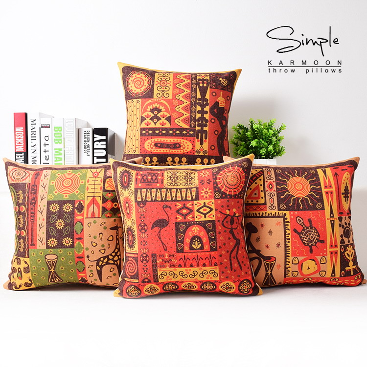 Indian Style Decorative Pillows