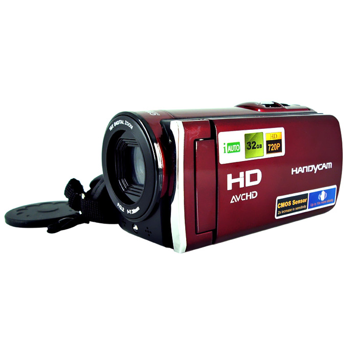Digital Video Camera With 3'' TFT Display And 16X Digital Zoom /Video Camera 270 degree Rotation Screen HDV-666 Mini Camera DV winait electronic image stabilization hdv z8 digital video camera with recording function touch screen