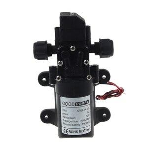 Image 5 - DC 12V 130PSI 6L/Min Water High Pressure Diaphragm Self Priming Pump 70W New