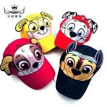 Cosplay costume props Kids Cartoon Peak Cap Puppy Marshall Skye Rocky Child Cute Hat Rubble Funny Baseball