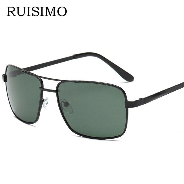RUISIMO Polarized Sunglasses Polaroid Outdoor Square Sun Glasses HD TAC Brand sunglasses for men Goggle Eyewear De Sol Feminino