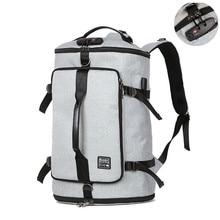 Мужской рюкзак-ведро, 40 л, большая вместительность, 15,6, сумка для ноутбука, дорожный рюкзак, сумки для Mlae, Подростковая школьная сумка для компьютера, рюкзак