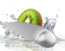 1PC Stainless Steel Kiwi Spoon 2 In 1 Avocado Slicer Scoop Papaya Cutter Knife Vegetable Fruit Tools Kitchen Gadgets KW 036