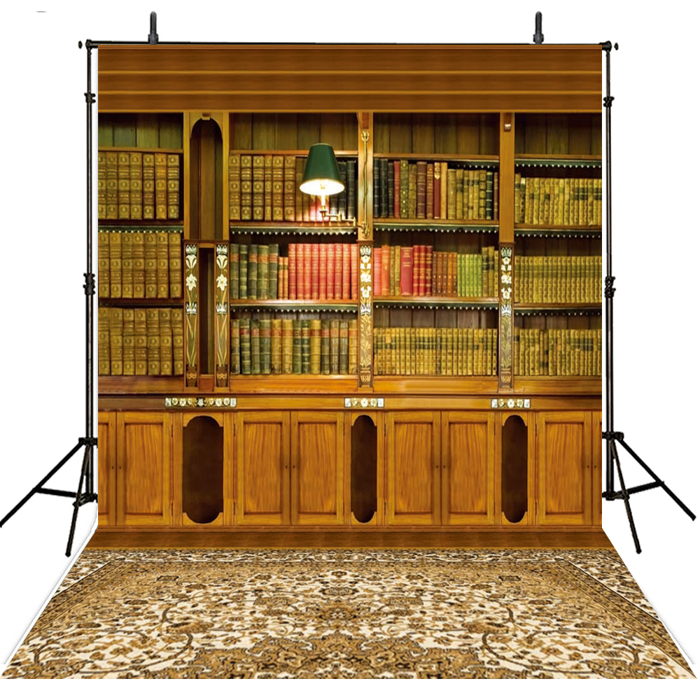 Vintage Photography Backdrops Books Vinyl Backdrop For Photography School Background For Photo Studio Children Foto Achtergrond high quality underground highly sensitive metal detector md3010ii for gold hunter