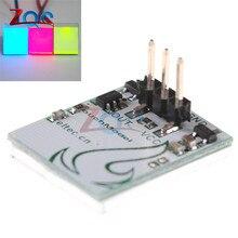5 шт. емкостный сенсорный модуль коммутатора серии httm 2,7 V-6 V сильный анти-помех красный зеленый желтый Цвет Фул светодиодный